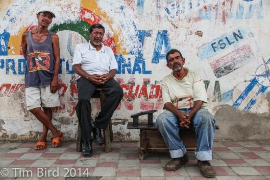 Granada residents taking it easy