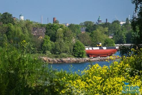 View of Suomenlinna from Vallisaari island, Helsinki